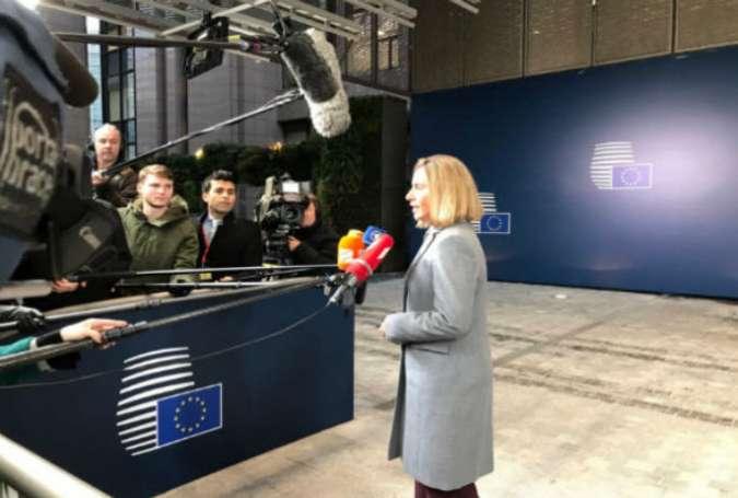 سفارت هیچ کشور عضو اتحادیه اروپا به بیت المقدس منتقل نخواهد شد