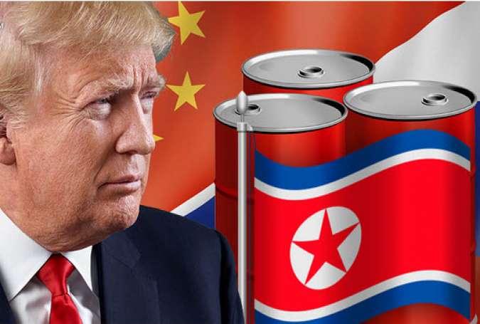 تنش ترامپ با چین و روسیه بر سر انتقال نفت به کره شمالی
