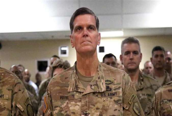 US Army General Joseph Votel, commander of the US Central Command (AFP photo)