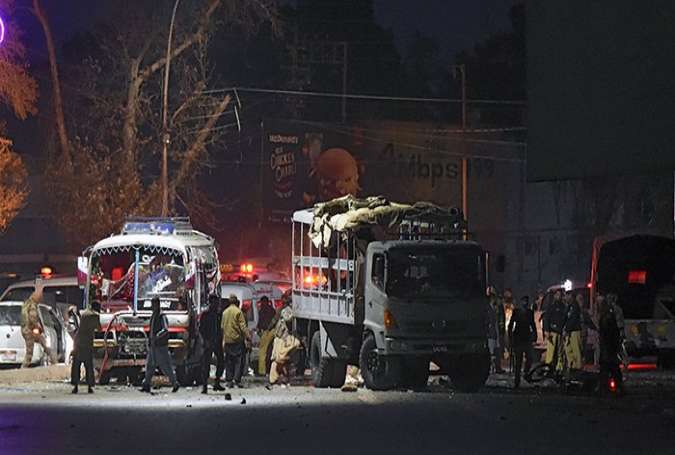 Six Killed as Taliban Bomber Hits Security Forces' Bus in Pakistan's Quetta