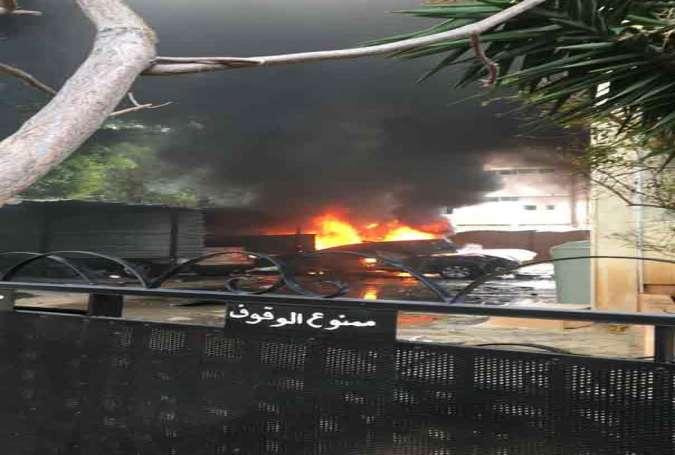 دقایقی پیش یک خودرو در جنوب لبنان منفجر شد