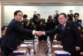 "North and South Korea hold rare talks  <img src=""/images/picture_icon.gif"" width=""16"" height=""13"" border=""0"" align=""top"">"
