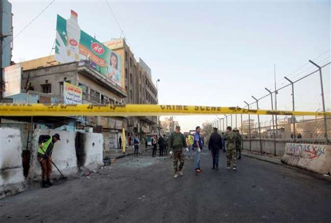 Bloodshed in Baghdad: Twin bombings kill over 2 dozen