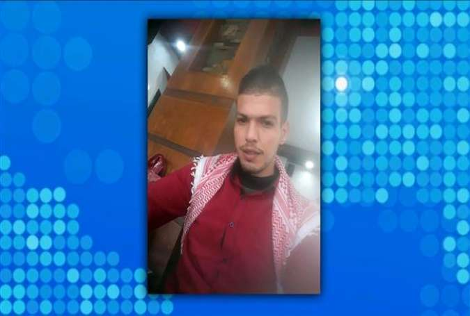 The file photo purportedly shows Palestinian Ahmed Saleem, who lost his life after Israeli troops shot him in the head in the occupied West Bank, on January 15, 2018.