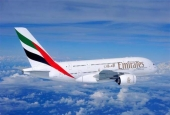 An Emirati A380 passenger plane (File photo)