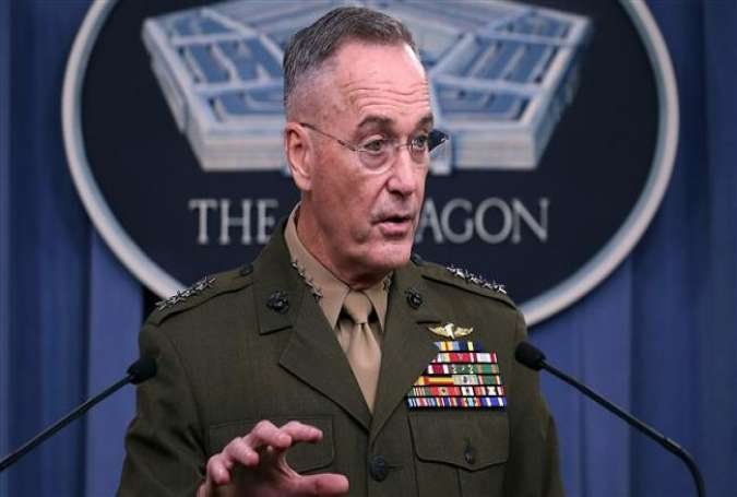 General Joseph Dunford Jr., the chairman of the Joint Chiefs of Staff (Photo by AFP)