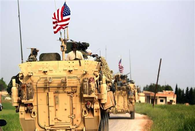 US forces, accompanied by Kurdish People