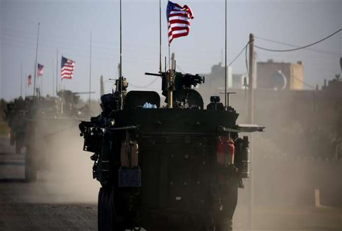 US maintaining troops in Syria to spread influence