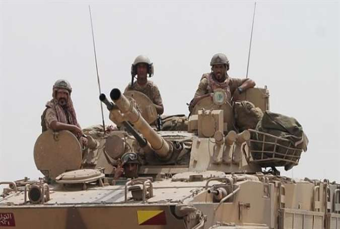 Saudi-led forces on the outskirts of the southern Yemen port city of Aden.jpg