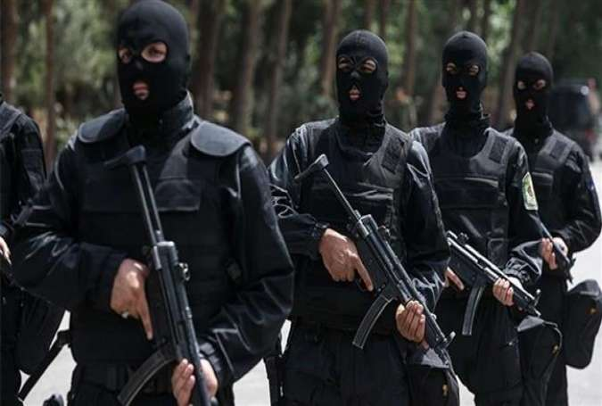 Iranian security forces (file photo)