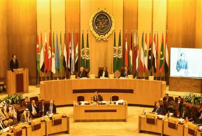 Arab League foreign ministers meeting at the Arab League headquarters in the Egyptian capital Cairo.jpg