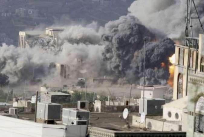۹ شهید و ۳ زخمی در حمله جنگنده های سعودی به استان «عمران» یمن