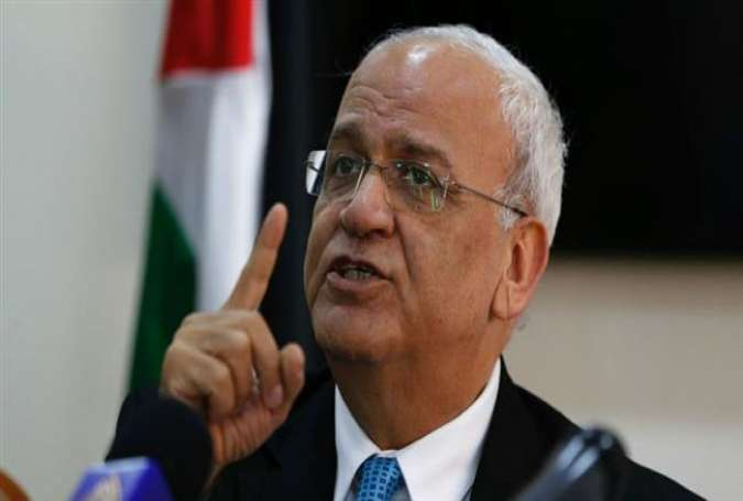 Saeb Erekat, the secretary general of the Palestine Liberation Organization (PLO)