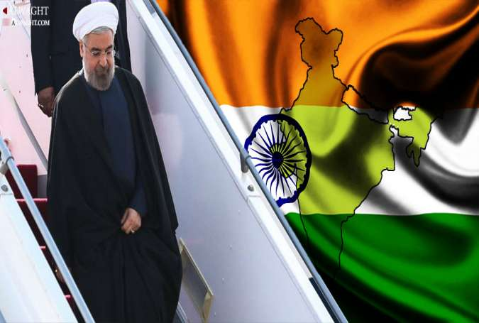 What's behind Iranian President's India Visit?