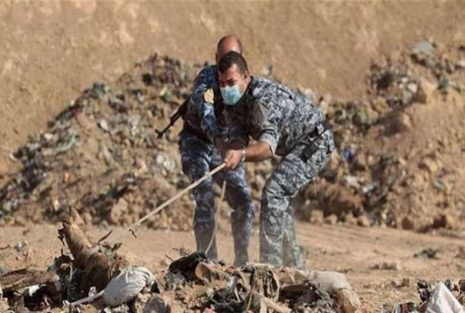 کشف گور دسته جمعی قربانیان داعش در شمال عراق