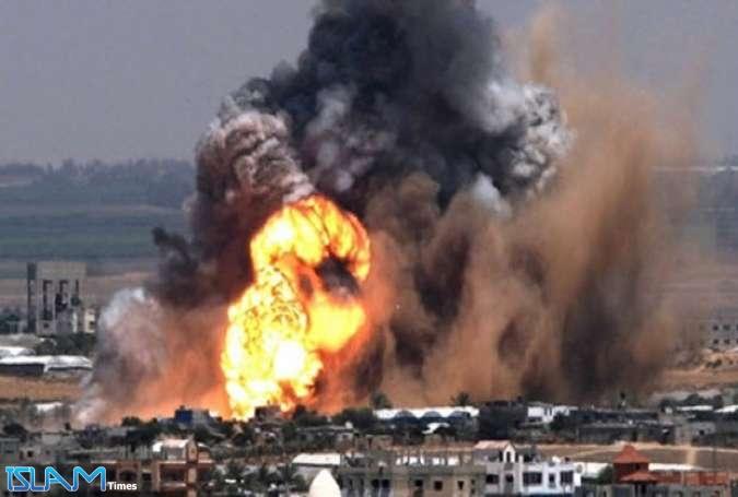 سلسله حملات هوایی اسرائیل به غزه