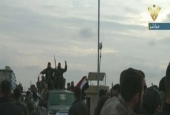 Syrian popular forces entering Afrin town in Aleppo northern.png
