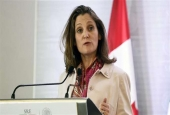 Canadian Foreign Minister Chrystia Freeland (photo by AFP)