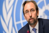 United Nations (UN) High Commissioner for Human Rights Zeid Ra