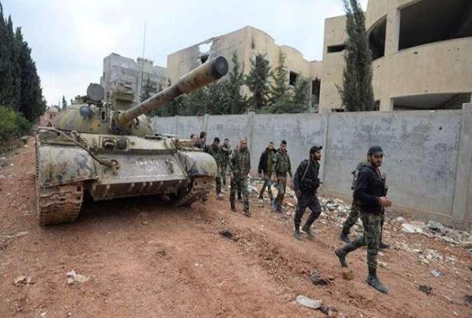 シリア軍は、グスタフ東部のメサバの町を完全に支配している