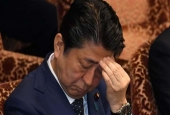Japanese Prime Minister Shinzo Abe (photo by AFP)