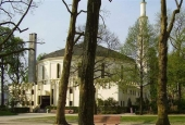 File photo shows the Grand Mosque of Brussels in Belgium.