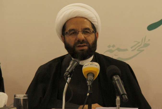 Sheikh Ali Daamoush, Deputy Chief of Hezbollah Executive Council.