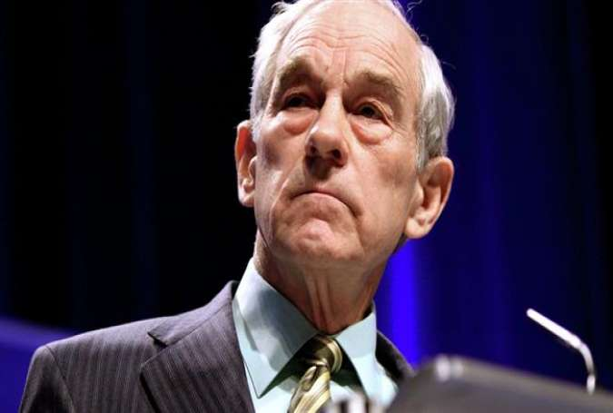 Former US Congressman and political analyst Ron Paul