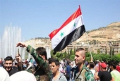 "Syrians rally in Damascus in support of Assad against US-led strikes  <img src=""/images/picture_icon.gif"" width=""16"" height=""13"" border=""0"" align=""top"">"