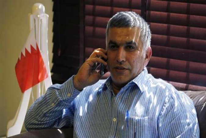 Prominent Bahraini opposition figure and pro-democracy campaigner Nabeel Rajab (file photo)