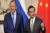 Russian Foreign Minister Sergei Lavrov and his Chinese counterpart, Wang Yi..jpg