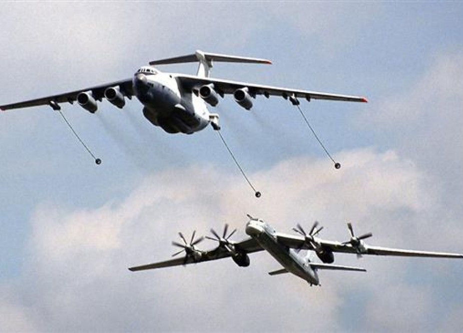 "File photo of Russian TU-95 ""Bear"" bombers"