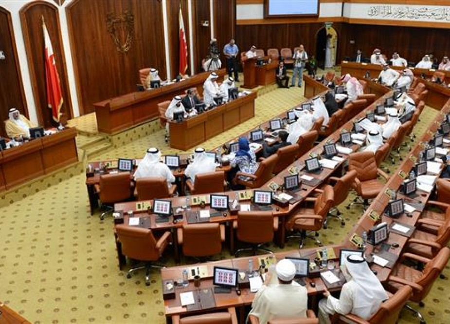 File photo shows Bahrain's National Assembly (parliament) in session.