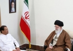 Leader of the Islamic Revolution Ayatollah Seyyed Ali Khamenei (R) and Sri Lanka