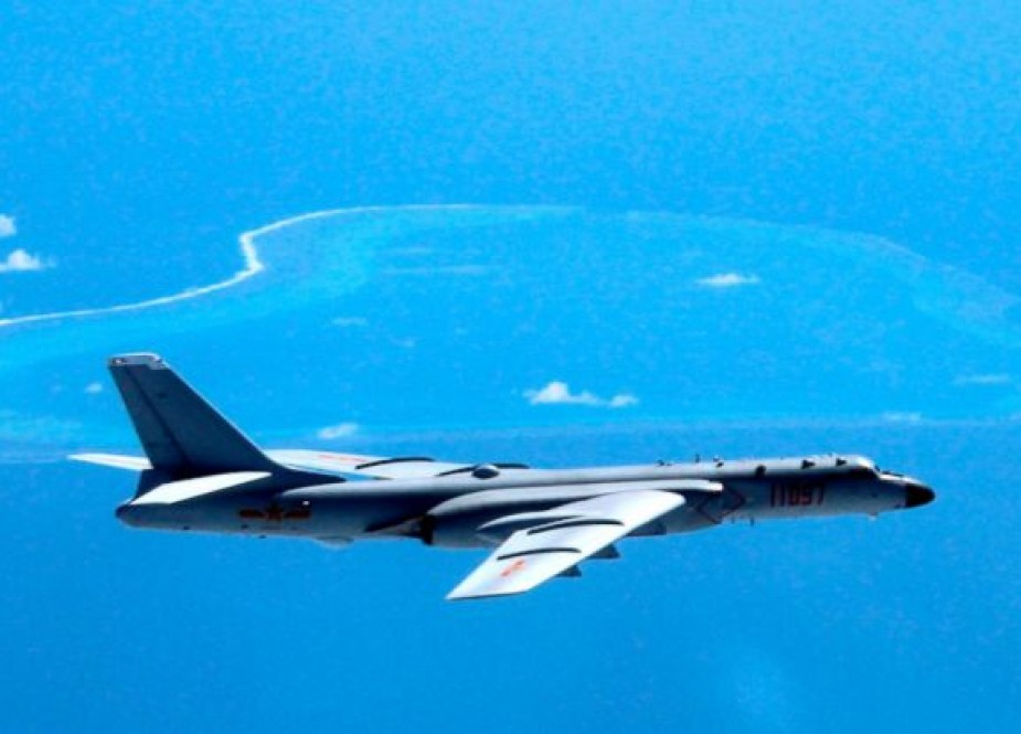 US protests as China lands bombers on island for first time