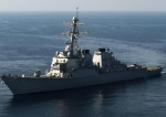Arleigh Burke-class guided missile destroyer USS Higgins.jpg