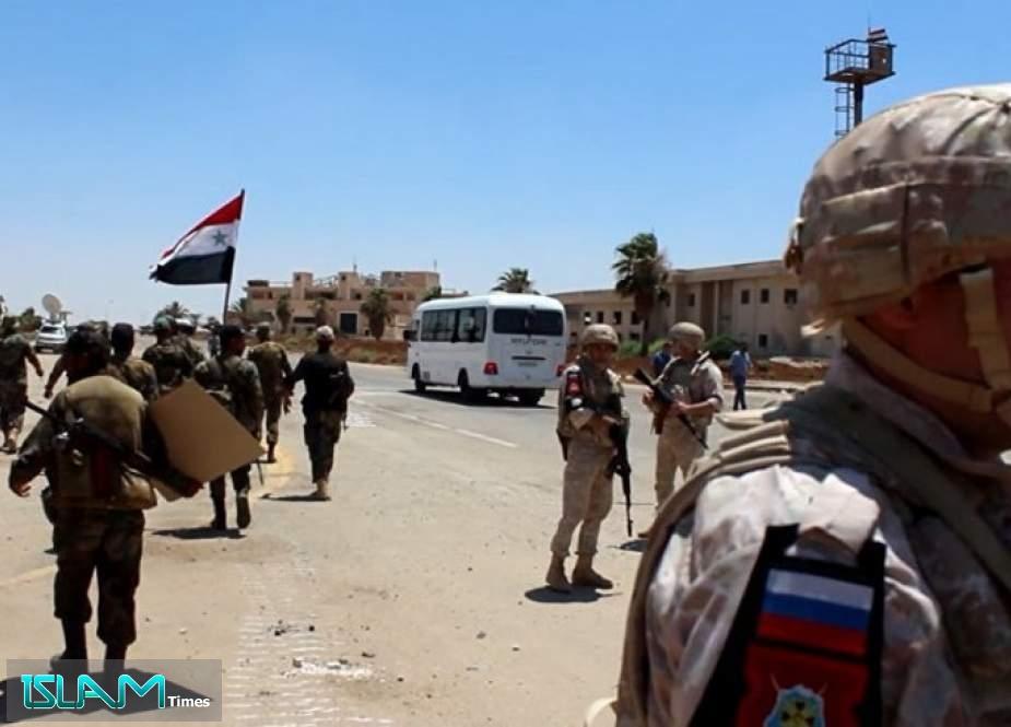 シリア軍はダラア市全体を回復し、タフスの町に入る