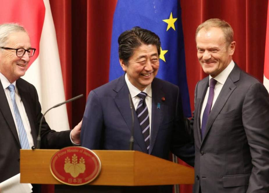EU-Japan Free Trade Deal Sends Message against US Protectionism