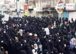 Women protest against the Saudi war in Sana