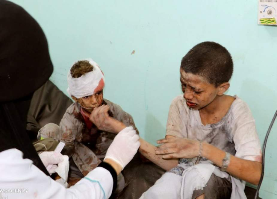 Yemenis condemn Saudi killing of schoolchildren