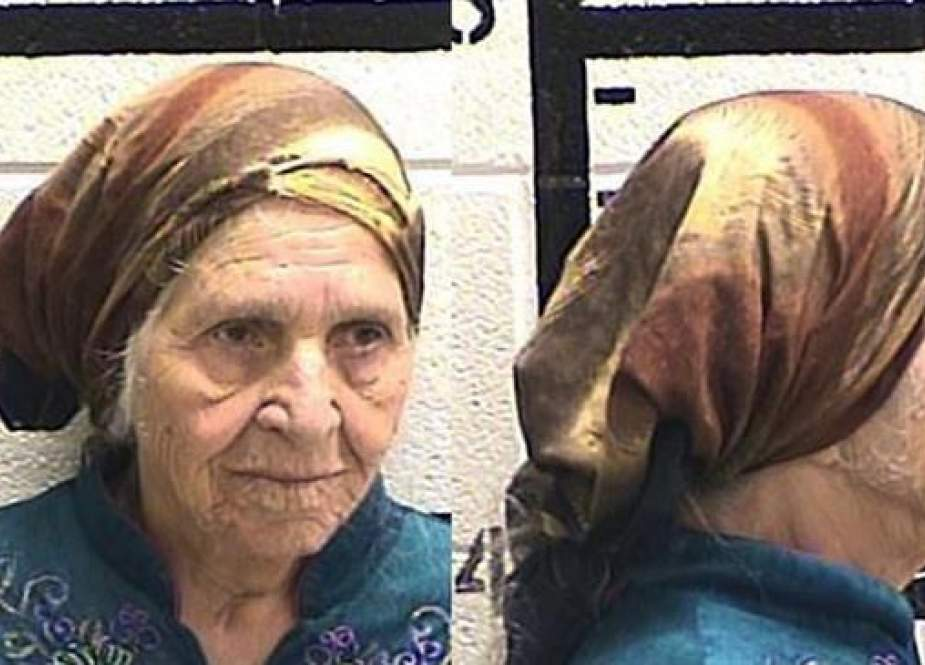 Martha Al-Bishara, 87, was charged with criminal trespass and obstructing an officer after she was seen holding a knife outside her home in Georgia.