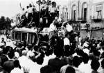 This archive picture shows riots on August 19, 1953, when a US- and UK-engineered coup toppled Iran's democratically-elected government.