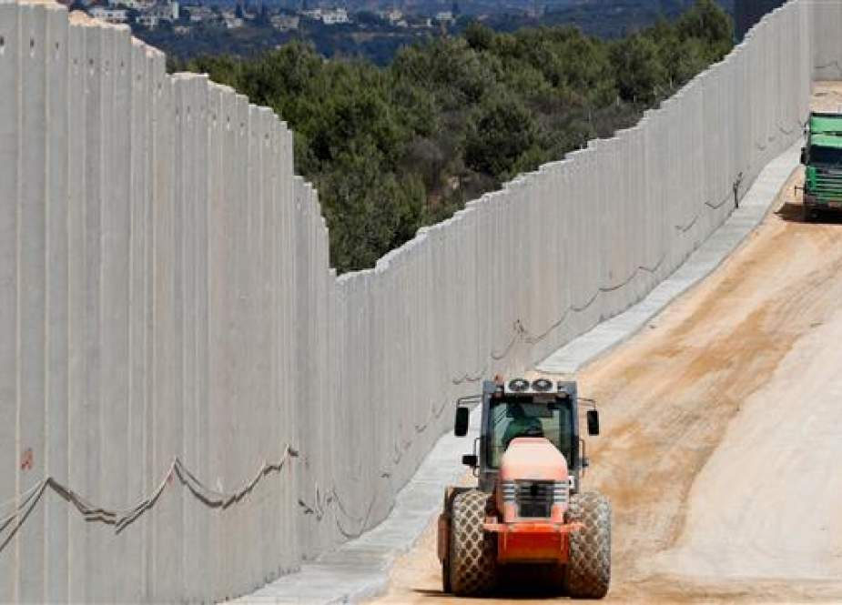 Israel completes 11 km of border wall with Lebanon