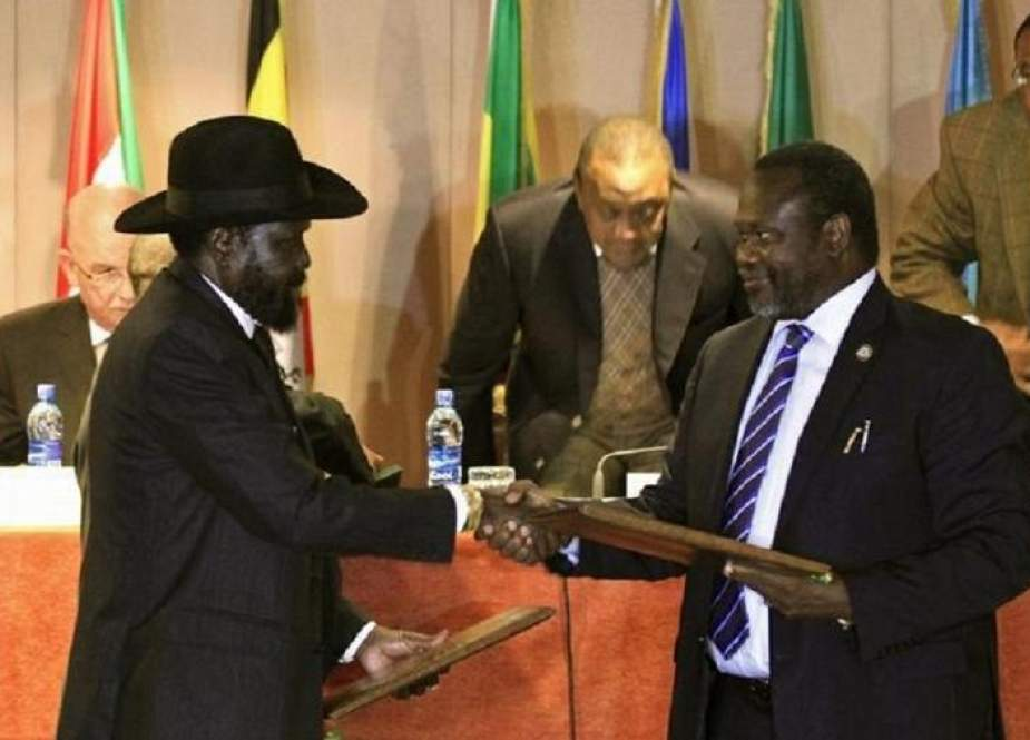 South Sudan president, rebel leader sign peace deal