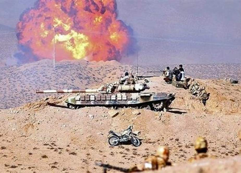 Iranian Army's ground forces taking part in a military maneuver.jpg