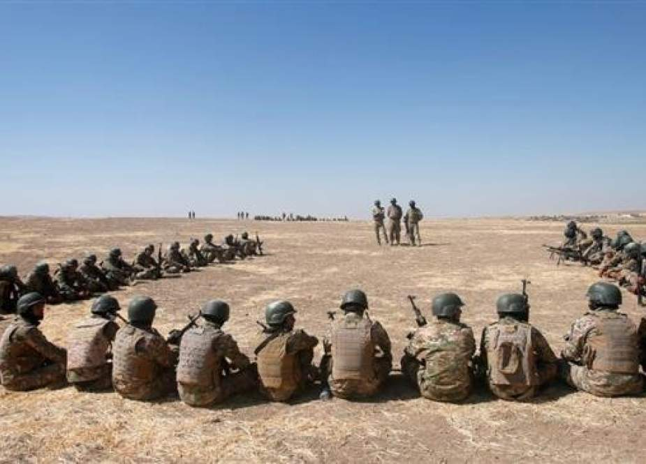 Turkish troops are training Kurdish and Sunni Arab forces at a camp in Bashiqa.
