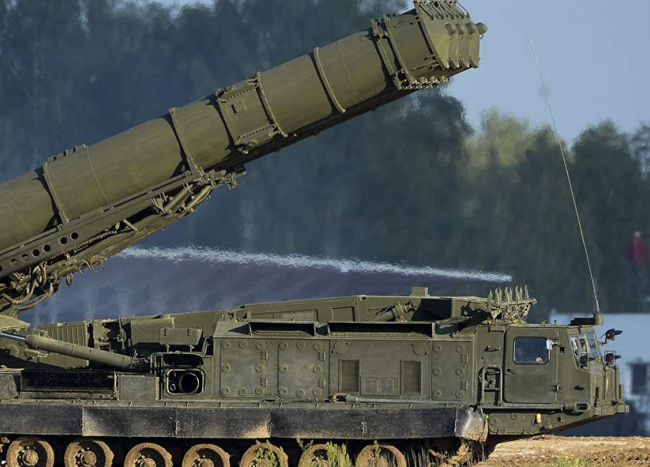 Russian S-300 air defense missile systems (file photo)