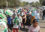File photo of Nigerian protesters demanding the release from jail of their cleric leader Sheikh Ibrahim El-Zakzaky in Abuja.