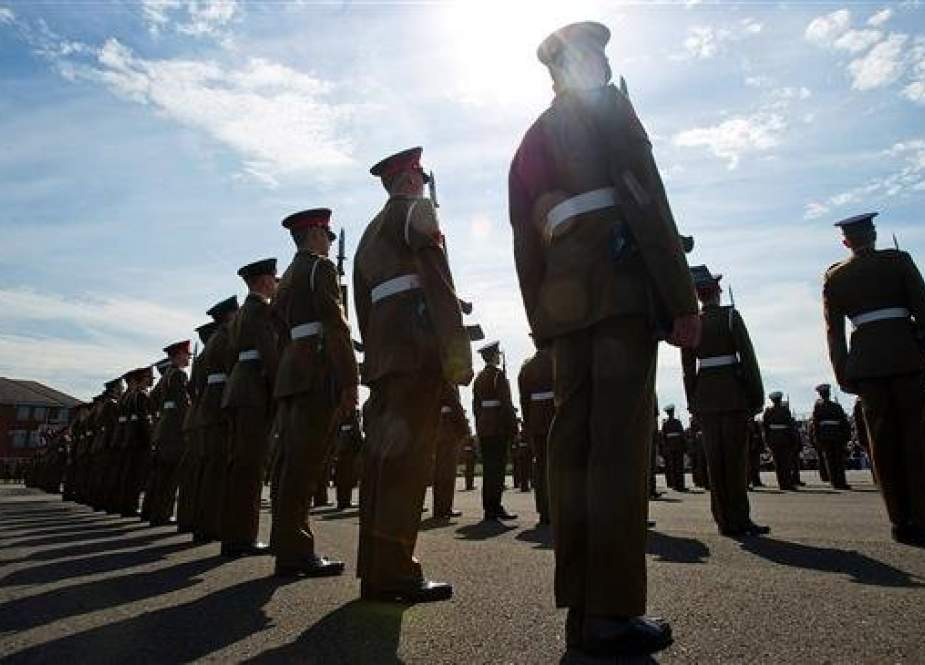 Junior soldiers during a passing-out parade. (Getty Images file photo)