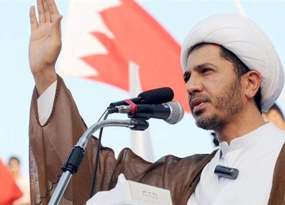 Prominent Bahraini Shia cleric and opposition leader Sheikh Ali Salman (file photo)